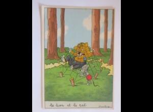 Comic, Le Lion et le Cat, 1950, Starling ♥ (51783)