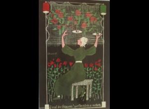 """Künstlerkarte, E. Kreidolf"" 1910, Kunstwart-Bilderkarte ♥"