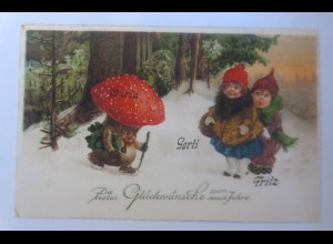 Kinder, Mode, Metamorphose, Pilz, Kleeblatt, 1931 ♥ (32420)