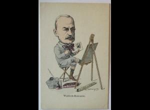Frankreich Politik, Karikatur, Waldeck-Rousseau, ca. 1900 (36704)