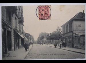Frankreich, Paris, Rue de Entrepreneurs, Tabac Geschäft, 1906
