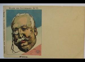 Frankreich Politik, Karikatur, Musee des Souverains VI., Felix (28880)