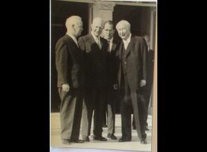 Politik, Heuss und Lübke, frankiertes Foto 1964 (35645)