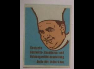 Kochen, Paul Bucuse, Nahrungsmittel-Ausstellung Berlin 1964 Vignette (35193)