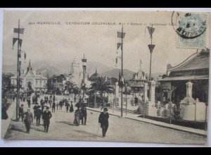 Frankreich, Marseille, Kolonialausstellung