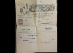 Aktien-Gesellschaft Alfa Separator,Fabrik Molkerei-Geräte, Steyr 1911 ♥(49681)