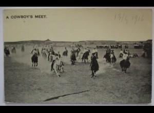 USA Wild West A Cowboys meet 1916 (20927)