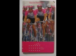Fahrrad Telekom Tour de France, 10 Telefonkarten u.a. Ulrich Zabel Riis (57420)