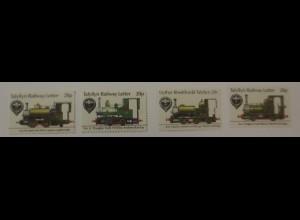 4 Marken Tayllyn Railway Letter, Eisenbahn, Lokomotive ♥ (72910)
