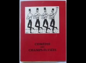 Frankreich Paris Comedy des Champs-Elysees, Programmheft 1958 (23734)