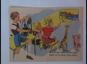 Reklame, Hertie Waren und Kaufhaus, Kinder, Spielzeug, 1950 ♥ (36192)