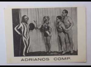"""Zirkus, Clown, Adrianos Comp. 1940 ♥"