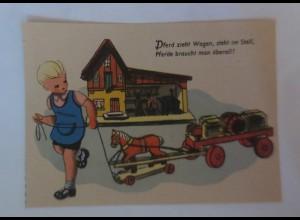 Reklame, Hertie Waren und Kaufhaus, Spielzeug, Kinder; 1950 ♥ (36189)