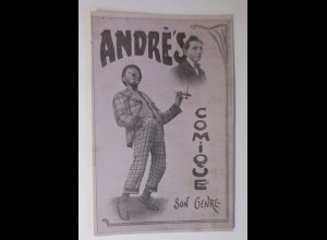 """Zirkus, Clown, Andre´s Comique, Son Genre"" 1910 ♥"