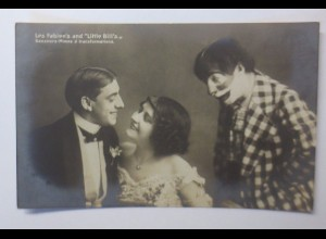 """Zirkus, Clown, Die Fabien´s und Little Bill´s"" 1910 ♥ (44236)"