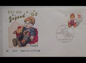 Spielzeug Puppen, Sonderbrief Deutschland 2002 (47410)