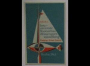 Boote Wassersport, Ausstellung Berlin 1963, postfrische Marke (64945)