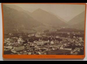 Oberösterreich Ischl & Traunthal, Foto Würthle & Spinnhirn ca. 1880 (72503)