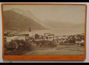 Oberösterreich Gmunden, Foto Würthle & Spinnhirn ca. 1880 (35544)