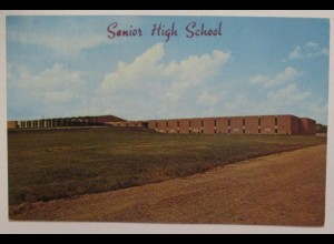 USA, Medford Senior High School ca. 60er Jahre (45788)