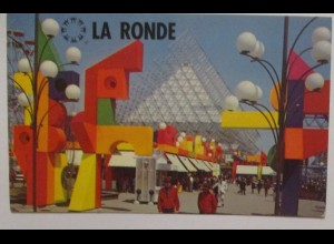 Montreal, Freizeitpark La Ronde, Fotokarte 1967 (35744)