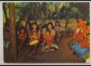 Kolumbien, Indianer, Frauen und Kinder, ca. 70er Jahre (70375)