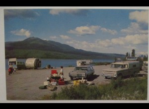 Paxson Lake Campground Alaska, ca. 60er Jahre (54625)