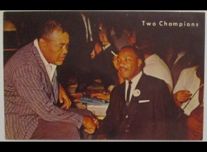 Martin Luther King and Joe Louis, Two Champions ca. 60er Jahre (8153)
