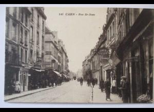 Frankreich, Caen, Rue St. Jean, Cafe Gustave (596)