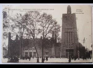 Frankreich, Marseille, Exposition Coloniale 1922