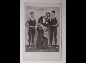"""""""Zirkus, Clown, Trio Ameroni"""" 1910, Foto Sonja ♥"""