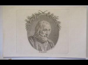 Theater Drama Griechenland Euripides, Druck ca. 1850 (47381)