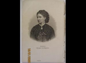 Maria Königin von Spanien Druck ca. 1880 (55617)