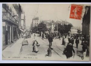 Frankreich, Lorient, Place Bisson