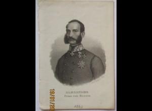 Prinz Alexander von Hessen, Druck sign. Mayer in Nürnberg (27316)