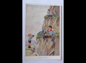 Kinder, Lustiges Picknick, Kamera, 1934 ♥ (44141)