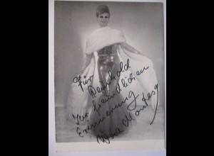 Künstler Cabaret Excelsior, Autogramm Wera Montesy