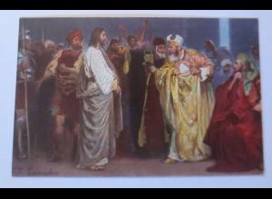Die Heilige Schrift, Serie 9, Bild 3, Hohenpriester, 1910,R. Leinweber ♥