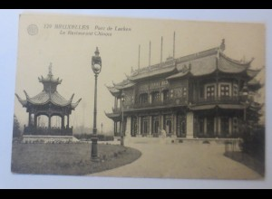 Bruxelles-Lacken, Parc de Lacken, Belgien, Le Restaurant Chinois 1924 ♥ (21004)