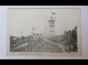 Conny Island, New York, Kirmes, Steeplechase Park, 1900 ♥ (33327)