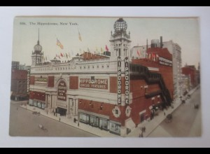 New York The Hippodrome, Theater, Circus Features 1910 ♥ (62140)