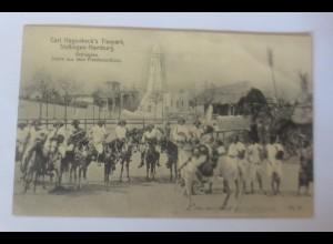 Carl Hegenbeck Tierpark, Völkerschau Äethiopien a. Friedensschluss,1917♥(28162)