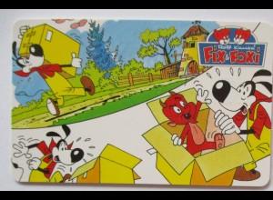 Telefonkarte Rolf Kauka, Fix und Foxi, Comic (28311)