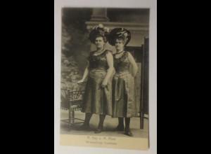 Zirkus Variete, Verwandlungs-Duettisten M. Kay u. M. Pohl, 1907 ♥ (38344)