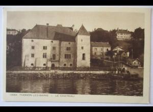 Frankreich, Thonson les Bains, Le Chateau