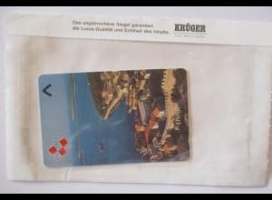 Telefonkarte Kroatien Hvar 100 E ungebraucht OVP Krüger (67185)