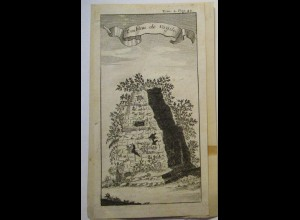 Italien Neapel Tombeau de Virgile, Druck ca. 1870 (22224)
