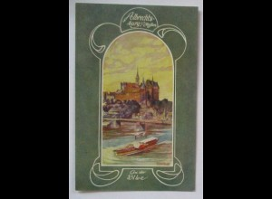 Deutsche Burgen, Albrechtsburg Meißen ca. 1910 (34978)
