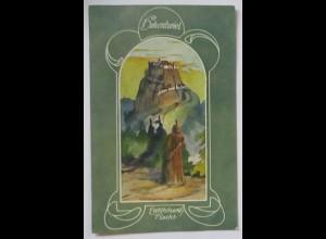 Deutsche Burgen, Hohentwiel, Ekkehard´s Flucht ca. 1910 (69143)