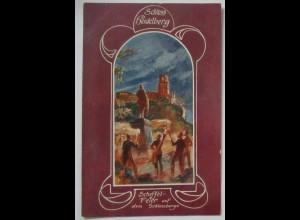 Deutsche Burgen, Rudelsburg, Schloß Heidelberg ca. 1910 (32173)